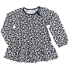 Buy Polarn O. Pyret Girl's Floral Tunic, Blue Online at johnlewis.com