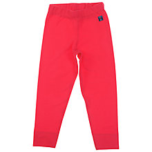 Buy Polarn O. Pyret Children's Fleeced Trousers, Red Online at johnlewis.com