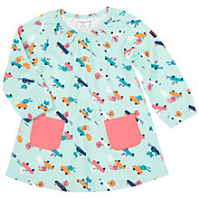 Buy Polarn O. Pyret Animal Pocket Dress, Green Online at johnlewis.com