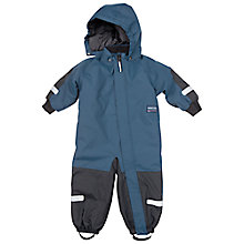 Buy Polarn O. Pyret Baby's Padded Overall, Blue Online at johnlewis.com
