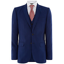 Buy Jaeger Plainweave Modern Suit Jacket, Bright Blue Online at johnlewis.com