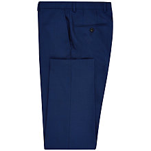 Buy Jaeger Plainweave Modern Suit Trousers, Bright Blue Online at johnlewis.com