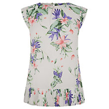 Buy Oasis Tropica Palm Top, Multi White Online at johnlewis.com