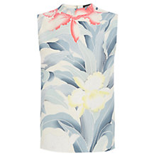 Buy Oasis Kimono Orchid Crop Top, Multi Online at johnlewis.com