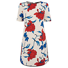 Buy Oasis Stylised Botanical Print Dress, Multi Online at johnlewis.com