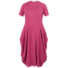 Buy Chesca Bubble Drape Dress, Deep Pink Online at johnlewis.com