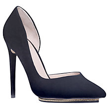 Buy KG by Kurt Geiger Envy Asymmetric Platform Courts Online at johnlewis.com