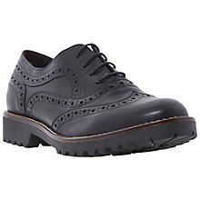 Buy Dune Black Fawne Leather Brogues Online at johnlewis.com