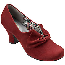 Buy Hotter Donna Bow Detail Court Shoes Online at johnlewis.com