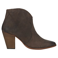 Buy Jigsaw Cara Block Heeled Ankle Boots Online at johnlewis.com