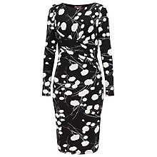 Buy Phase Eight Arlington Dress, Black/White Online at johnlewis.com