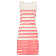 Buy Phase Eight Sophie Ombre Dress, Cream/Coral Online at johnlewis.com