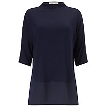 Buy Phase Eight Torrie Turtle Top, Pitch Blue Online at johnlewis.com