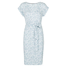 Buy Hobbs Iris Dress, Blue Ivory Online at johnlewis.com