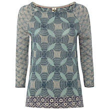 Buy White Stuff Campbell Jumper, Ceramic Blue Online at johnlewis.com