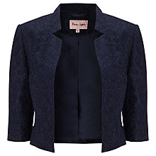 Buy Phase Eight Gretel Lace Jacket, Navy Online at johnlewis.com