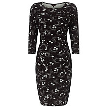 Buy Phase Eight Tillie Text Tunic Dress, Black/Grey Online at johnlewis.com