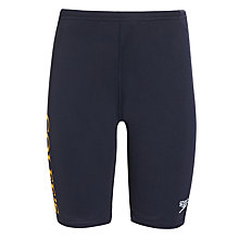 Buy Colfe's School Jammer Swim Shorts, Navy Online at johnlewis.com