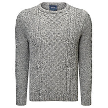 Buy John Lewis Made in England Cable Knit Wool Jumper Online at johnlewis.com