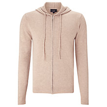 Buy John Lewis Made in Italy Cashmere Full Zip Hoodie Online at johnlewis.com