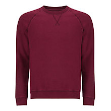 Buy John Lewis Pigment Dyed Organic Cotton Crew Neck Sweatshirt Online at johnlewis.com