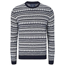 Buy John Lewis Lambswool Cashmere Jacquard Knit Jumper Online at johnlewis.com