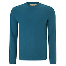 Buy JOHN LEWIS & Co. Cotton Silk Cashmere Moss Crew Neck Jumper Online at johnlewis.com