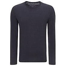 Buy John Lewis Sueded Organic Cotton Crew Neck Jumper Online at johnlewis.com