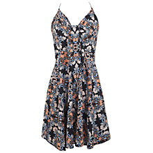 Buy Miss Selfridge Tie Front Floral Dress, Multi Online at johnlewis.com