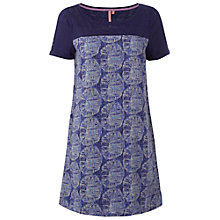 Buy White Stuff Floridita Thurn Tunic Top, Night Blue Online at johnlewis.com