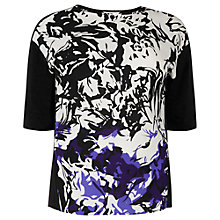 Buy Windsmoor Printed Top, Multi Purple Online at johnlewis.com