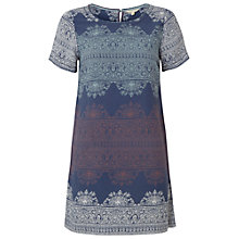 Buy White Stuff Wallflower Tunic Top, Thunder Blue Online at johnlewis.com
