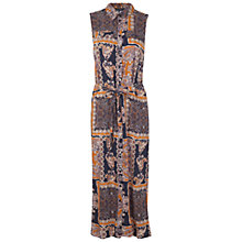 Buy Miss Selfridge Paisley Midi Shirt Dress, Assorted Online at johnlewis.com