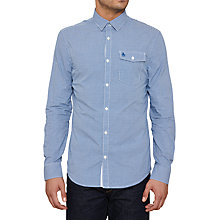 Buy Original Penguin Facade Shirt, Snorkel Blue Online at johnlewis.com