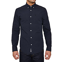 Buy Original Penguin Term Long Sleeve Shirt, Dark Sapphire Online at johnlewis.com