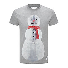 Buy Supremebeing Jack Snowman Print T-Shirt Online at johnlewis.com