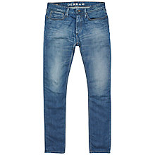 Buy Denham Razor Comfort Jeans, Mid Wash Online at johnlewis.com