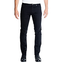 Buy Denham Razor Jeans, Forever Black Online at johnlewis.com