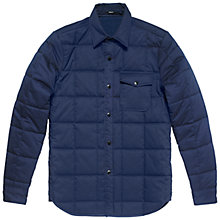 Buy Denham Uni Quilt IQ Jacket, Navy Online at johnlewis.com
