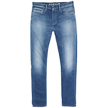 Buy Denham Razor Comfort Straight Jeans, Power Stretch Online at johnlewis.com