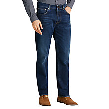 Buy Gant Tyler Straight Jeans, Dark Blue Online at johnlewis.com