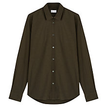 Buy Jigsaw Dark Oxford Slim Shirt Online at johnlewis.com