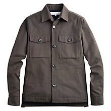 Buy Private White Vc Picadilly Shacket, Brown Online at johnlewis.com
