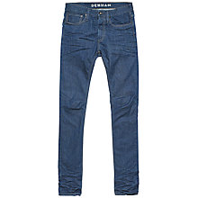 Buy Denham Razor Comfort Jeans, Flat Blue Online at johnlewis.com