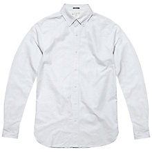 Buy Denham Rhys Shirt, White Online at johnlewis.com