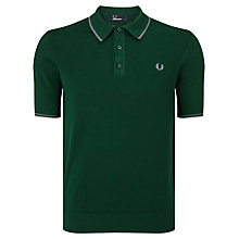 Buy Fred Perry Knitted Polo Shirt Online at johnlewis.com