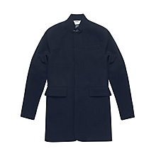 Buy Denham Tenger Mid Length Coat, Navy Online at johnlewis.com