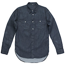 Buy Denham Polack Denim Shirt, Indigo Online at johnlewis.com