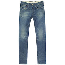Buy Denham Bolt Skinny Jeans, Archive Wash Online at johnlewis.com