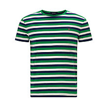 Buy Gant Colour Stripe Short Sleeve T-shirt Online at johnlewis.com